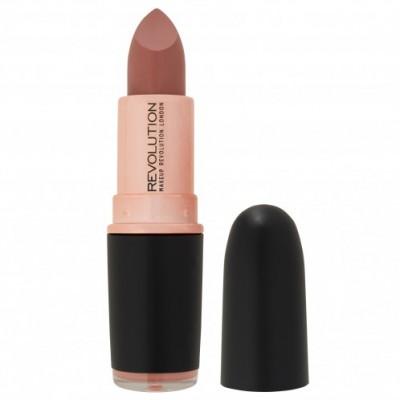 Помада для губ MakeUp Revolution Iconic Matte Revolution Lipstick Chauffeur NEW: фото