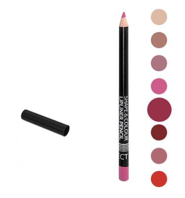Карандаш для губ Shape&Colour Lipliner Pencil Long Lasting Affect Roya Red: фото