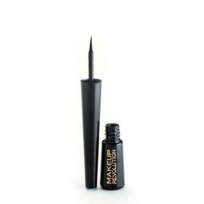 Подводка для глаз Makeup Revolution Amazing Liquid Eyeliner Black: фото