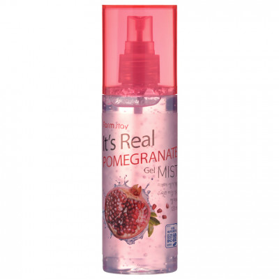 Гель-мист для лица с экстрактом граната FARMSTAY It's real pomegranate gel mist 120мл: фото