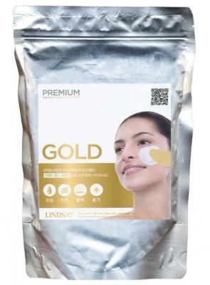 Альгинатная маска с золотом LINDSAY Premium gold modeling mask pack 1000г: фото