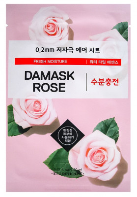 Маска с экстрактом дамасской розы ETUDE HOUSE 0.2 Therapy Air Mask Damask Rose 20мл: фото