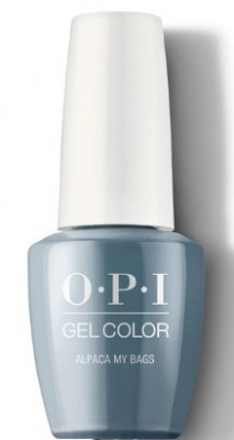 Гель для ногтей OPI GelColor Peru Alpaca My Bags GCP33: фото