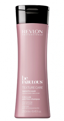 Дисциплинирующий шампунь Revlon Professional Be Fabulous Texture Care Smooth Hair C.R.E.A.M. anti-frizz 250 мл: фото