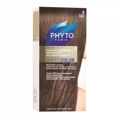 Краска для волос PHYTOSOLBA Phyto Color 6 Темный блонд: фото