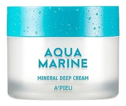 Крем минеральный глубокоувлажняющий A'PIEU Aqua Marine Mineral Deep Cream: фото