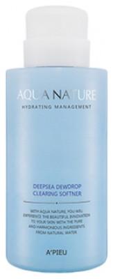 Софтнер для лица очищающий A'PIEU Aqua Nature Deep-Sea Dewdrop Clearing Softener: фото