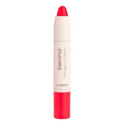 Карандаш-помада для губ THE SAEM Saemmul Smudge Lip Crayon PK02 3,5гр: фото