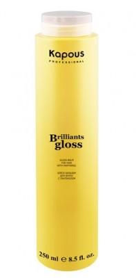 Бальзам-Блеск для волос Brilliants gloss 250мл: фото