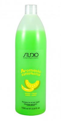 Шампунь для всех типов волос Банан и дыня Kapous Studio 1000мл: фото