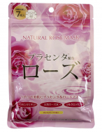 Маска для лица с экстрактом розы Japan Gals Pure5 Essential 7 шт: фото