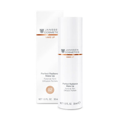 Тональный крем с UV-защитой SPF-15 Janssen Cosmetics Perfect Radiance Make Up №02 олива 30мл: фото