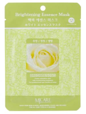 Маска тканевая осветляющая Mijin Brightening Essence Mask 23гр: фото