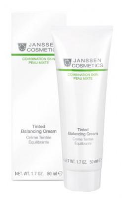 Крем балансирующийс тональным эффектом Janssen Cosmetics Tinted Balancing Cream 50мл: фото