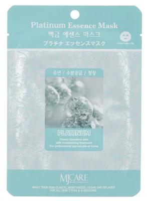 Маска тканевая платина Mijin Platinum Essence Mask 23гр: фото
