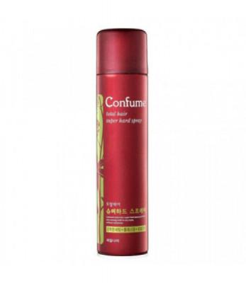 Лак для волос сильной фиксации Welcos Confume Total Hair Superhard Spray 300мл: фото