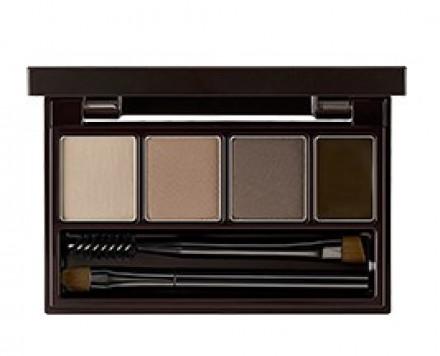 Набор для макияжа бровей THE SAEM Eco Soul Multi Brow Kit 02 Gray Brown 3,8г: фото