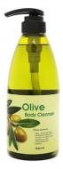 Гель для душа с экстрактом оливы расслабляющий Welcos KWAILNARA Olive Body cleanser 740г: фото