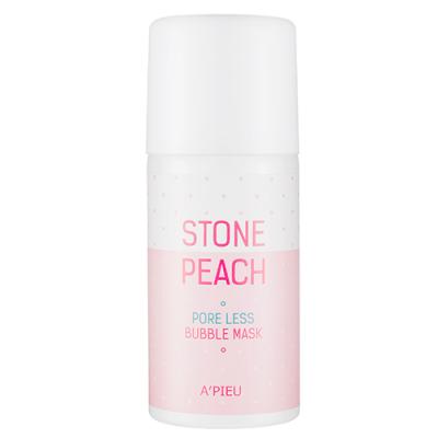 Маска для лица кислородная A'PIEU Stone Peach Pore Less Bubble Mask 60гр: фото