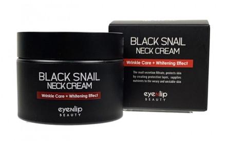 Крем для шеи антивозрастной Eyenlip BLACK SNAIL NECK CREAM 50мл: фото
