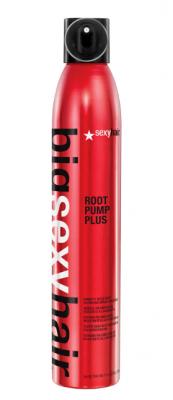 Мусс для объёма влагостойкий спрей SEXY HAIR Root Pump Plus Humidity Resistant Volumizing Spray Mousse 300мл: фото
