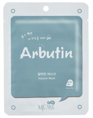 Маска тканевая с арбутином Mijin MJ CARE ON Arbutin Mask Pack 22г: фото