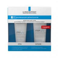Набор для тела La Roche-Posay LIPIKAR AP+: бальзам 75мл + очищающий крем-гель для лица и тела 100мл в ПОДАРОК: фото