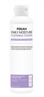 Тонер для лица с экстрактом спаржевой капусты PEKAH Daily Moisture Clearing Toner 250 мл: фото