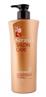 Шампунь питательный для поврежденных волос KeraSys 600 г: фото