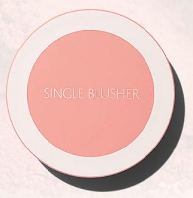 Румяна THE SAEM Saemmul Single Blusher CR07 Mango Peach: фото