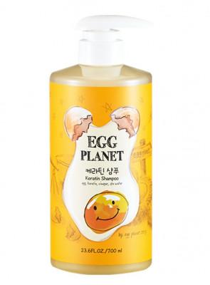 Шампунь яичный с кератином DAENG GI MEO RI EGG PLANET Keratin Shampoo 700мл: фото