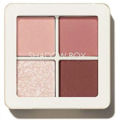 Тени 4-хцветные THE SAEM Saemmul Shadow Box 01 Rosy Ending 3,6г: фото