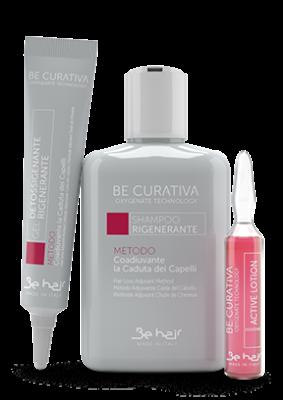 Комплекс против выпадения волос Be Hair KIT RIGENERANTE BE CURATIVA CADUTA: фото