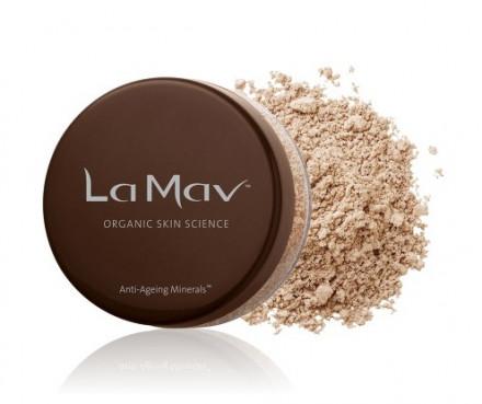 Минеральная омолаживающая пудра-основа La Mav Anti-Ageing Mineral Foundation SPF15 Light/Medium, 8 г: фото