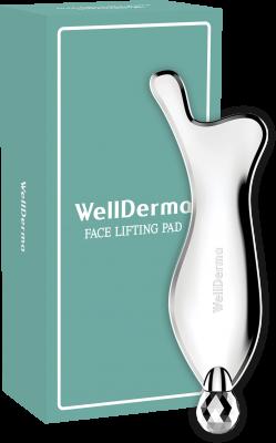 Механический массажёр для лица WELLDERMA Face Lifting Pad: фото