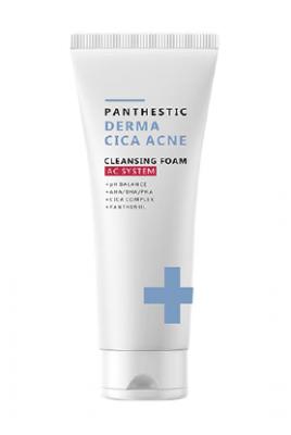 Пенка для умывания от акне EVAS Panthestiс Derma Cica Acne Cleansing Foam 140 мл: фото