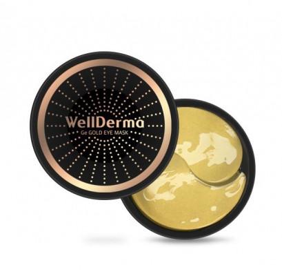 Омолаживающие гидрогелевые патчи с германием и золотом WELLDERMA Ge Gold Eye Mask 60 шт: фото