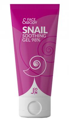 Гель универсальный УЛИТКА J:ON Face & Body Snail Soothing Gel 98%, 200 мл: фото