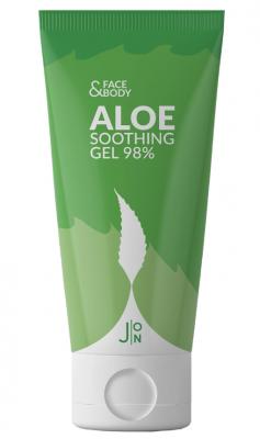 Гель универсальный АЛОЭ J:ON Face & Body Aloe Soothing Gel 98%, 200 мл: фото