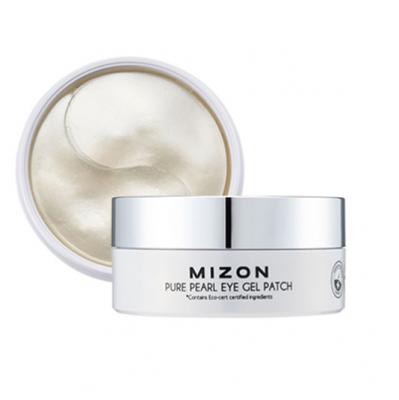 Гидрогелевые патчи с экстрактом белого жемчуга MIZON Pure Pearl Eye Gel Patch 60шт: фото