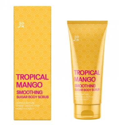 Скраб для тела МАНГО J:ON Tropical Mango Smoothing Sugar Body Scrub 250г: фото